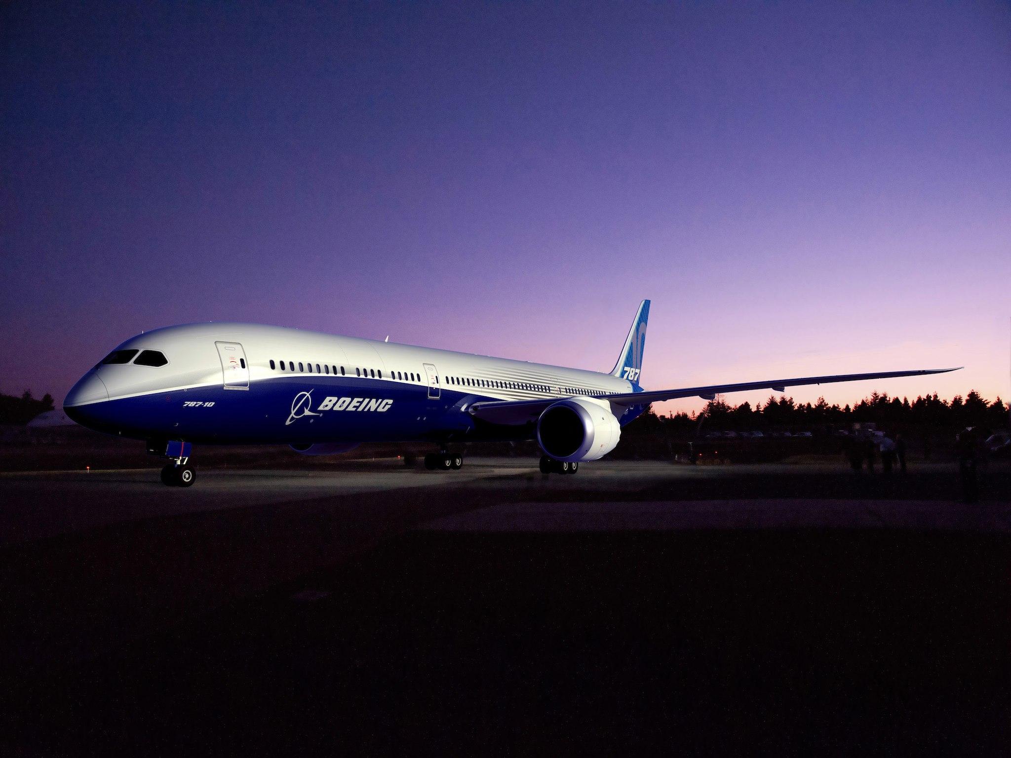 787-10 Boeing
