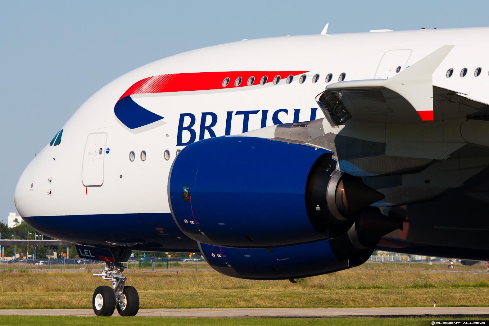 A380 British Airways G-XLEL - Clément Alloing – Tous droits réservés