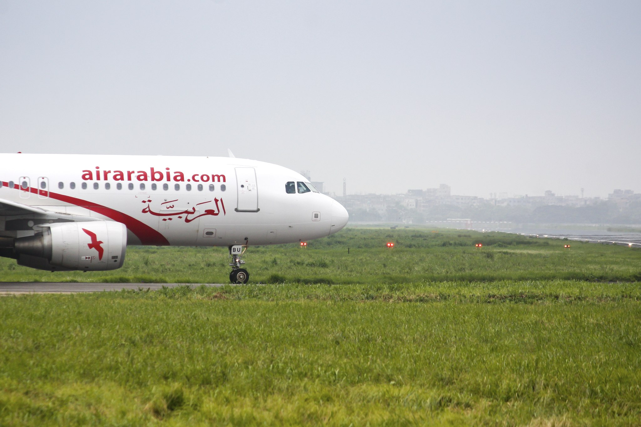 A6-ABU Airbus A320-214 Air Arabia Taxying To Runway at Hazrat Shahjalal International Airport par Faisal Akram sous (CC BY-SA 2.0)