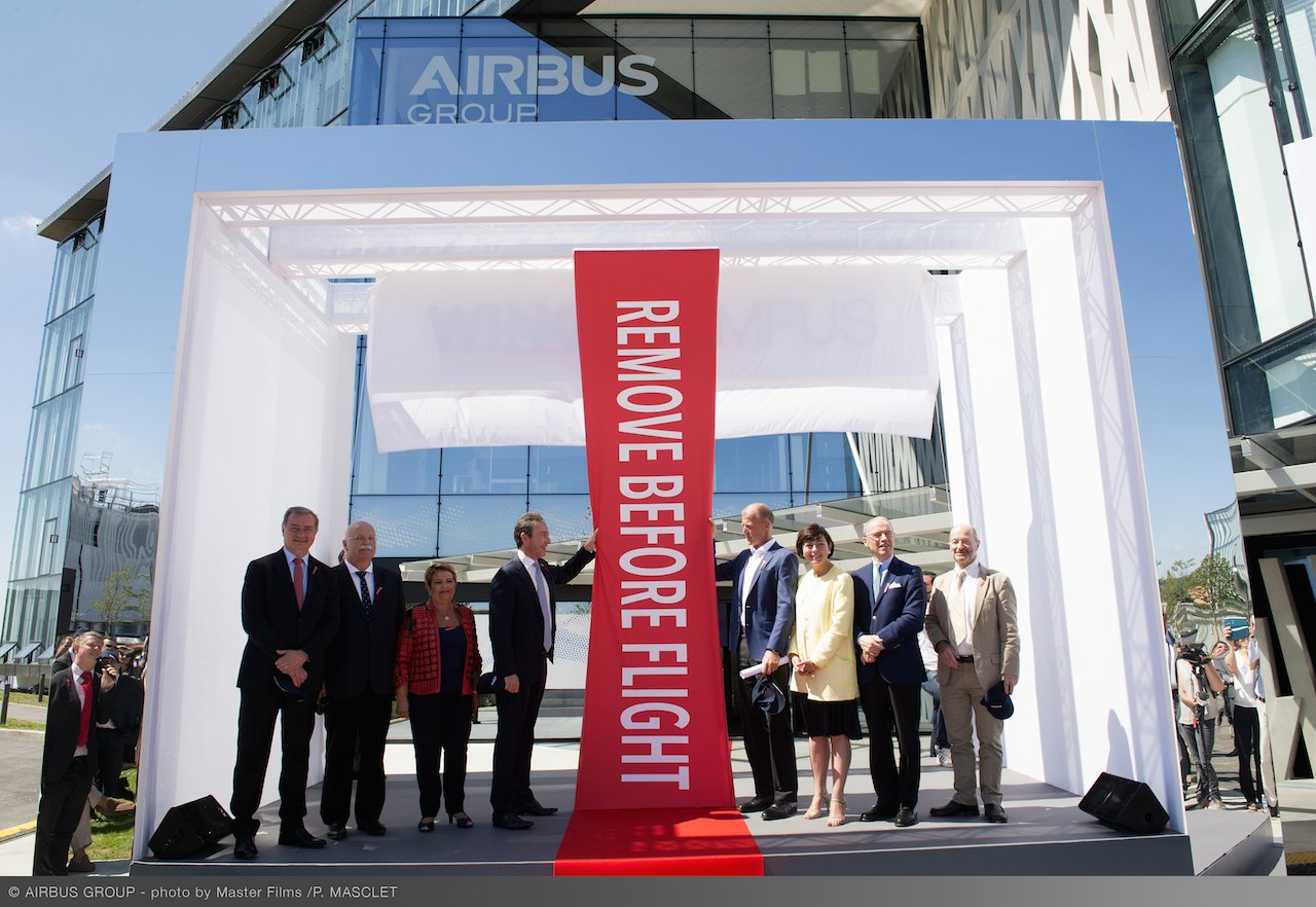 AIRBUS GROUP HEADQUARTER INAUGURATION_1