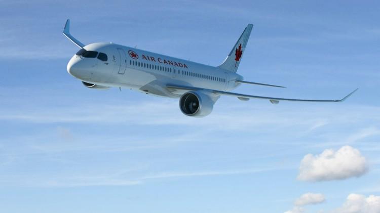 CS100 Air Canada - image gracieusement fournie par Bombardier inc