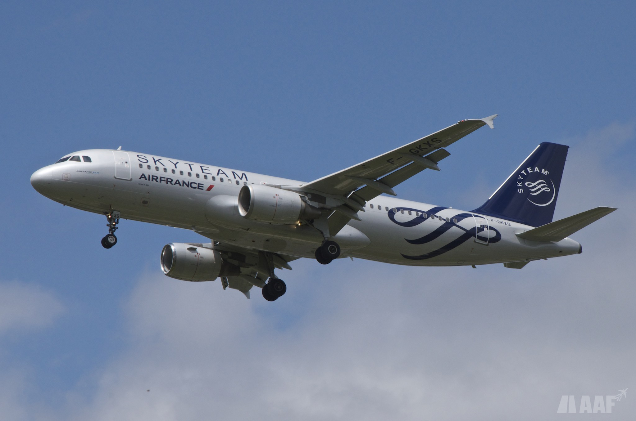 A320 Air France Skyteam - AAF_Aviation