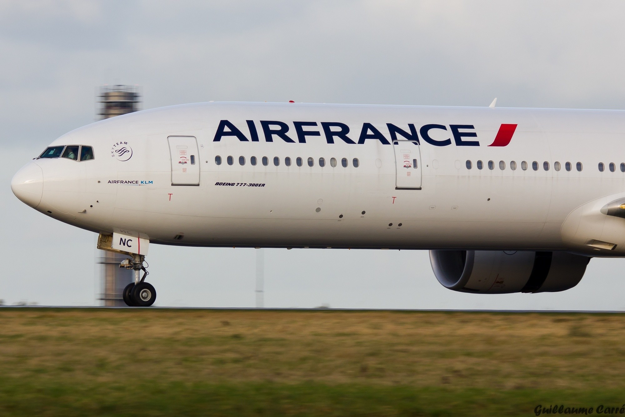 Boeing 777 Air France - Guillaume Carré