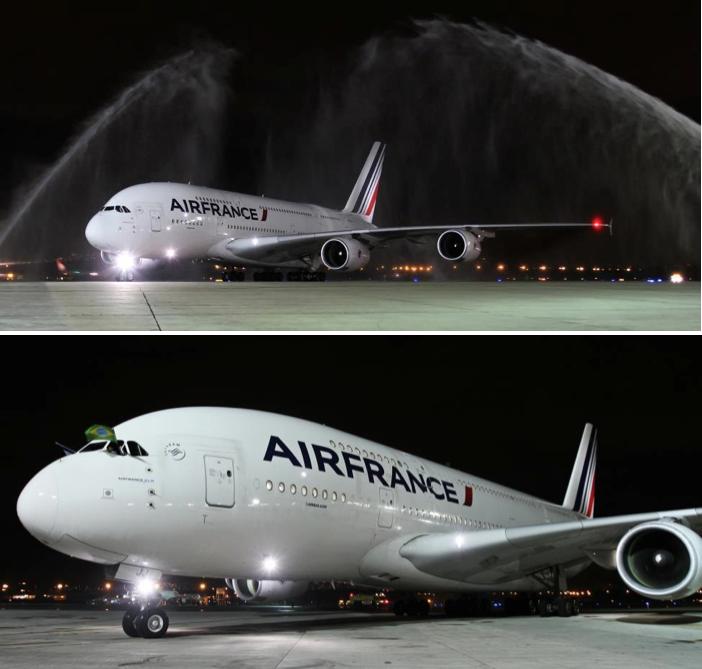 A380 Air France RIO DE JANEIRO - crédit Air France et Airbus