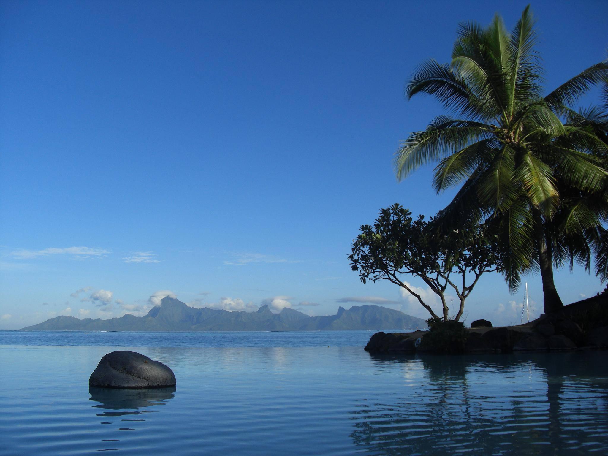 Tahiti depuis Moorea