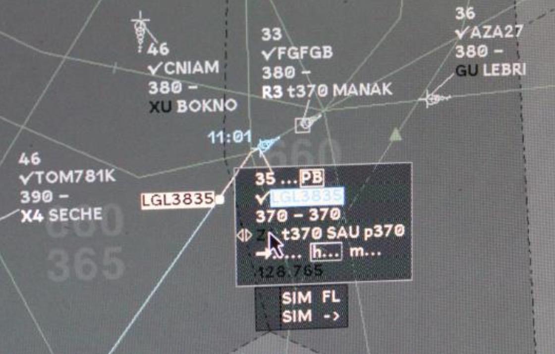Systéme de controle aérien en-route - ERATO (EEE) - France