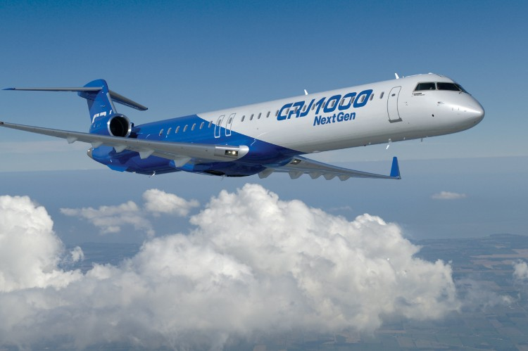 CRJ1000 NextGen de Bombardier