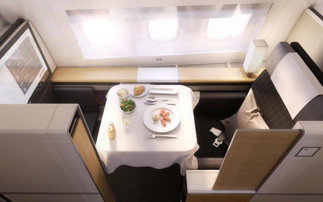 Première classe 777-300ER SWISS