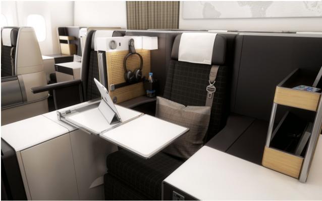 Business classe 777-300ER SWISS