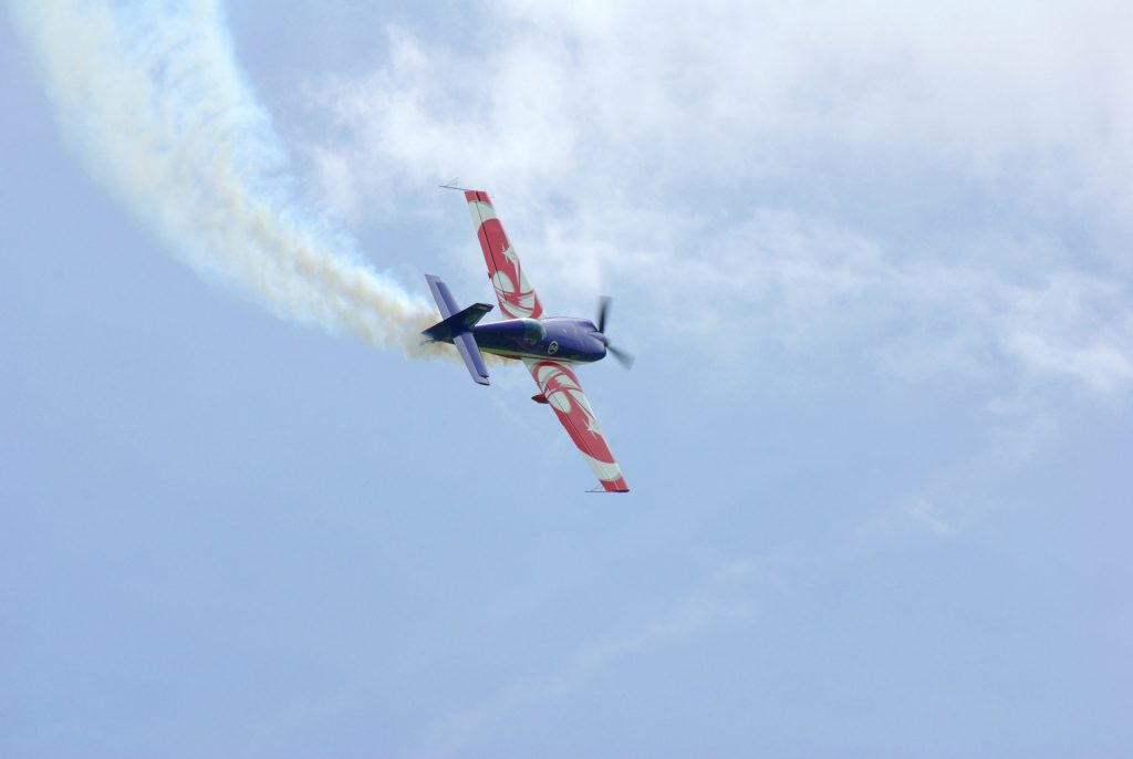 """Extra 330 EVAA Air Expo 2010"" by Duch.seb - Own work. Licensed under CC BY-SA 3.0 via Wikimedia Commons - https://commons.wikimedia.org/wiki/File:Extra_330_EVAA_Air_Expo_2010.JPG#/media/File:Extra_330_EVAA_Air_Expo_2010.JPG"