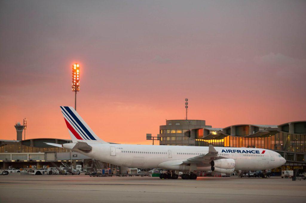 ©AirFrance - Airbus A340 au terminal 2 à Paris-CDG - by Philippe Delafosse