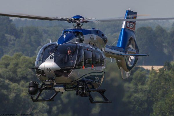 H145 Polizei de la police allemande