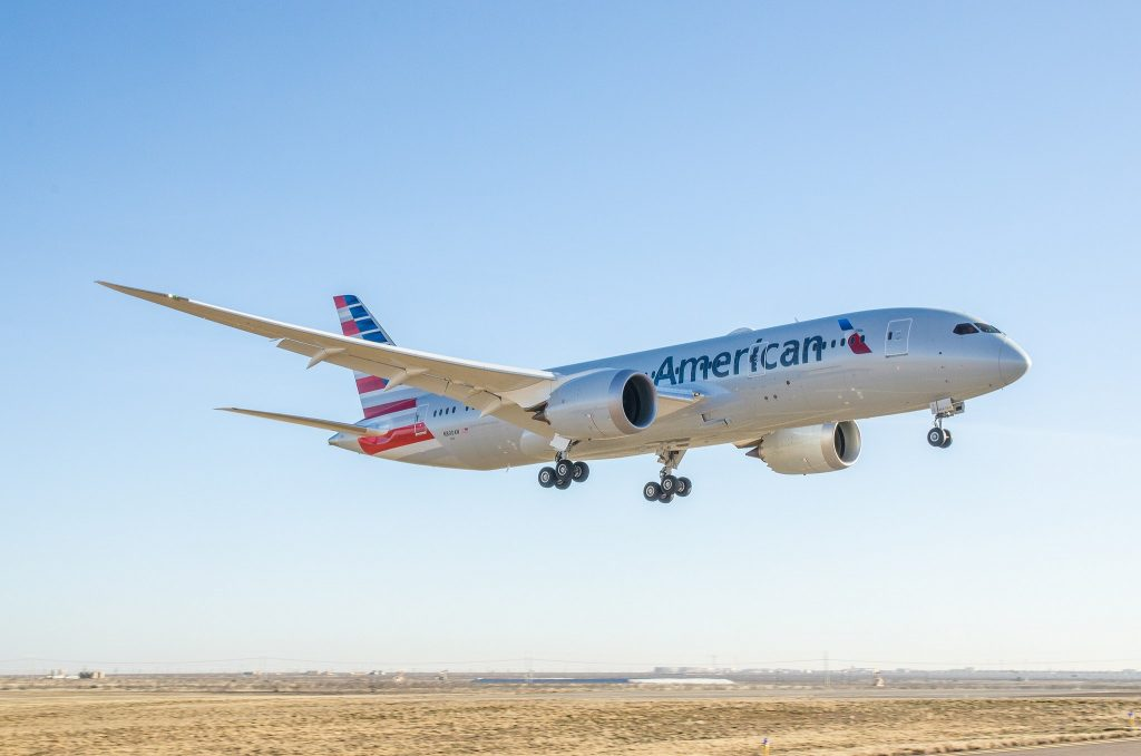 American Airlines 787 par LoadedAaron sous (CC BY-ND 2.0)