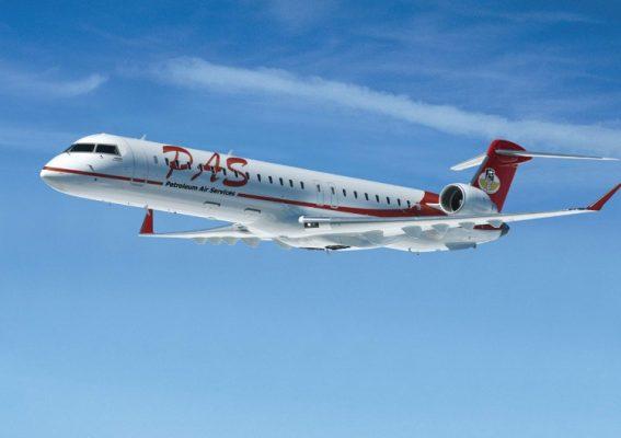 Avion CRJ900 de Petroleum Air Services