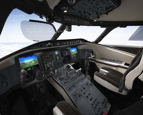 Challenger 650 / Images fournies gracieusement par Bombardier Inc.