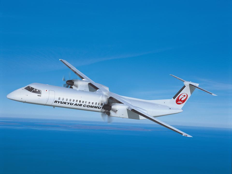 Bombardier Q400 Combi - Image fournie gracieusement par Bombardier Inc.