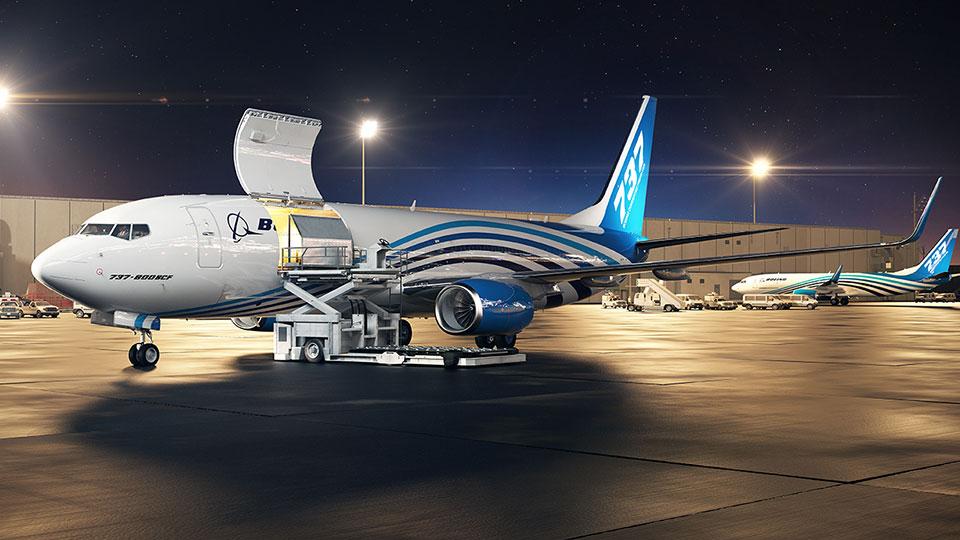 Boeing 737BCF (c) Boeing