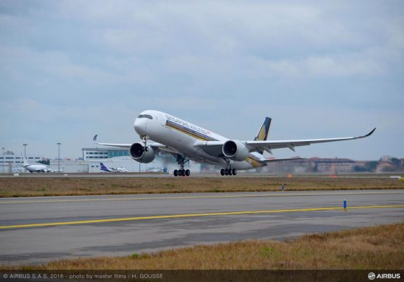 A350-900 Singapore Airlines - ©Airbus