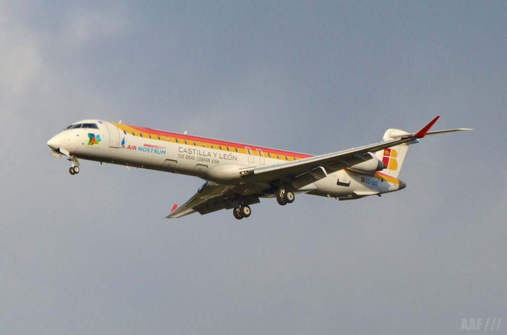 CRJ1000 Iberia Regional - AAF_Aviation