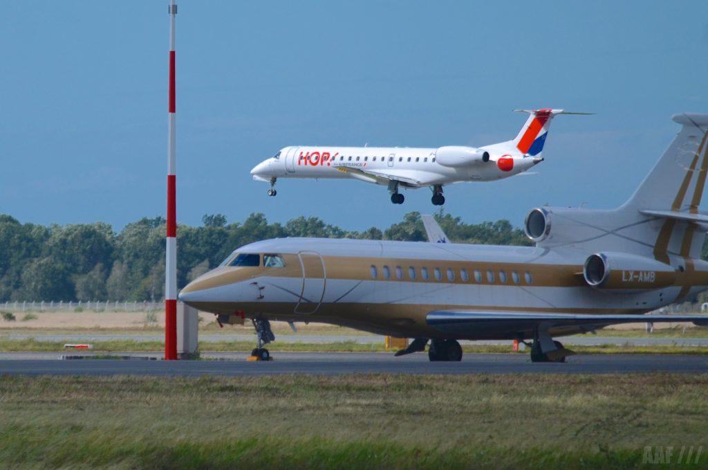 HOP et Falcon BOD - (c) AAF_Aviation