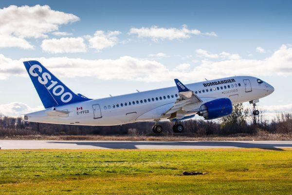 CS100 Bombardier - Image fournie gracieusement par Bombardier Inc.