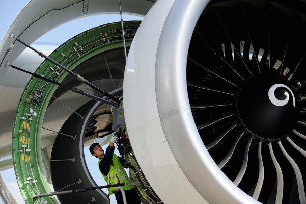 Moteur A380 Patrick Delapierre pour AFI KLM EM