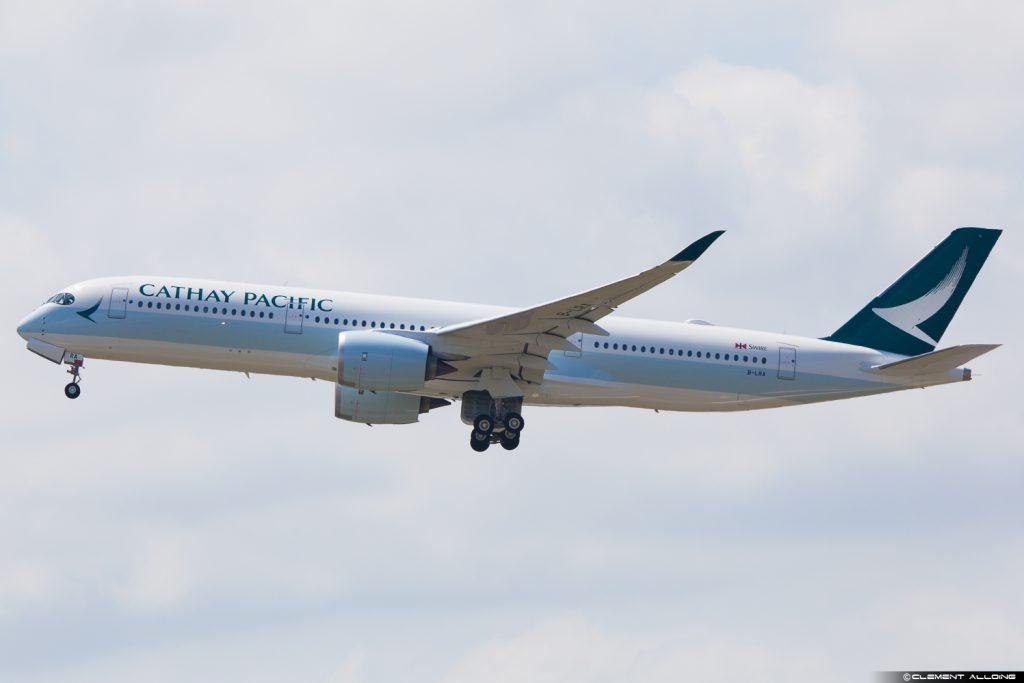 A350 Cathay Pacific - ©Clément Alloing – Tous droits réservés