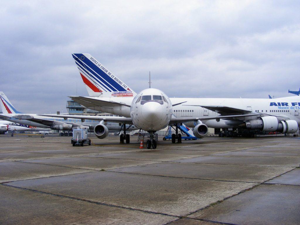 Air Inter Dassault Mercure - Musée de l'air et de l'espace Paris Le Bourget par Mathieu Marquer sous (CC BY-SA 2.0) https://www.flickr.com/photos/slasher-fun/5107968371/ https://creativecommons.org/licenses/by-sa/2.0/