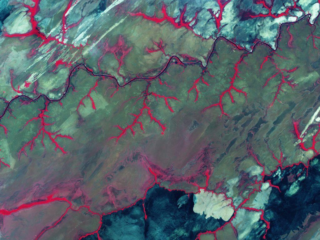 Río Cinaruco, Estado Apure, Venezuela. par Agencia Bolivariana para Actividades Espaciales sous (CC BY 2.0) https://www.flickr.com/photos/abaevenezuela/9261569513/ https://creativecommons.org/licenses/by/2.0/