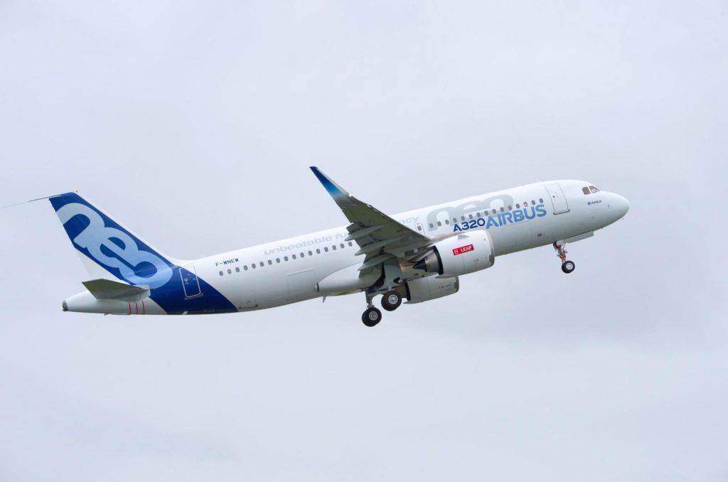 A320NEO moteurs LEAP A1 de CFM - Airbus