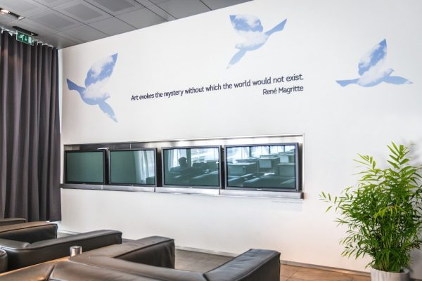 """The Suite"" le nouveau salon de Brussels Airlines"