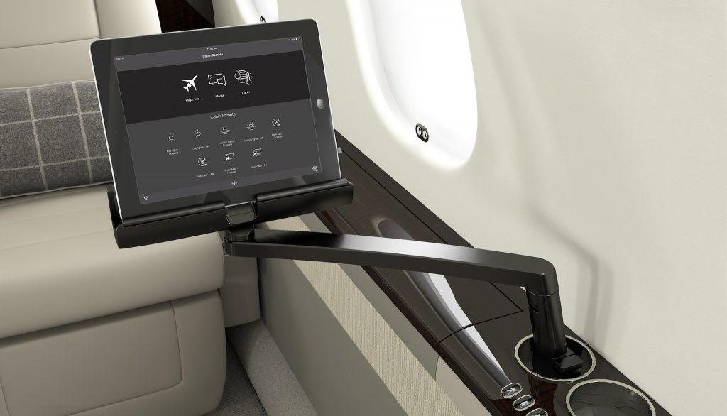 Système cabine BOMBARDIER Global - Image fournie gracieusement par Bombardier Inc.