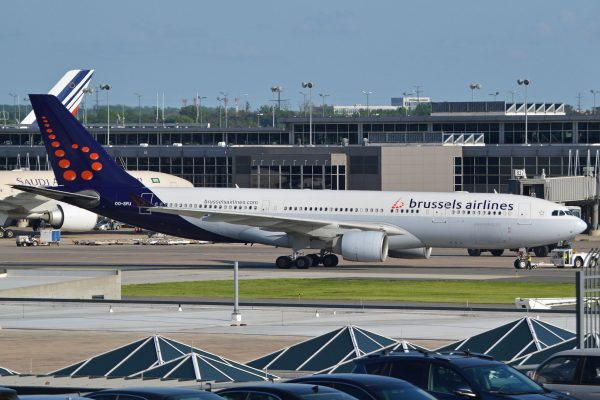 Airbus A330-223 'OO-SFU' Brussels Airlines par Alan Wilson sous (CC BY-SA 2.0) https://www.flickr.com/photos/ajw1970/18623110118/ https://creativecommons.org/licenses/by-sa/2.0/