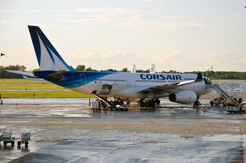 Corsair A330-200 F-HCATpar Caribb sous (CC BY-NC-ND 2.0) https://www.flickr.com/photos/caribb/19176040389/ https://creativecommons.org/licenses/by-nc-nd/2.0/