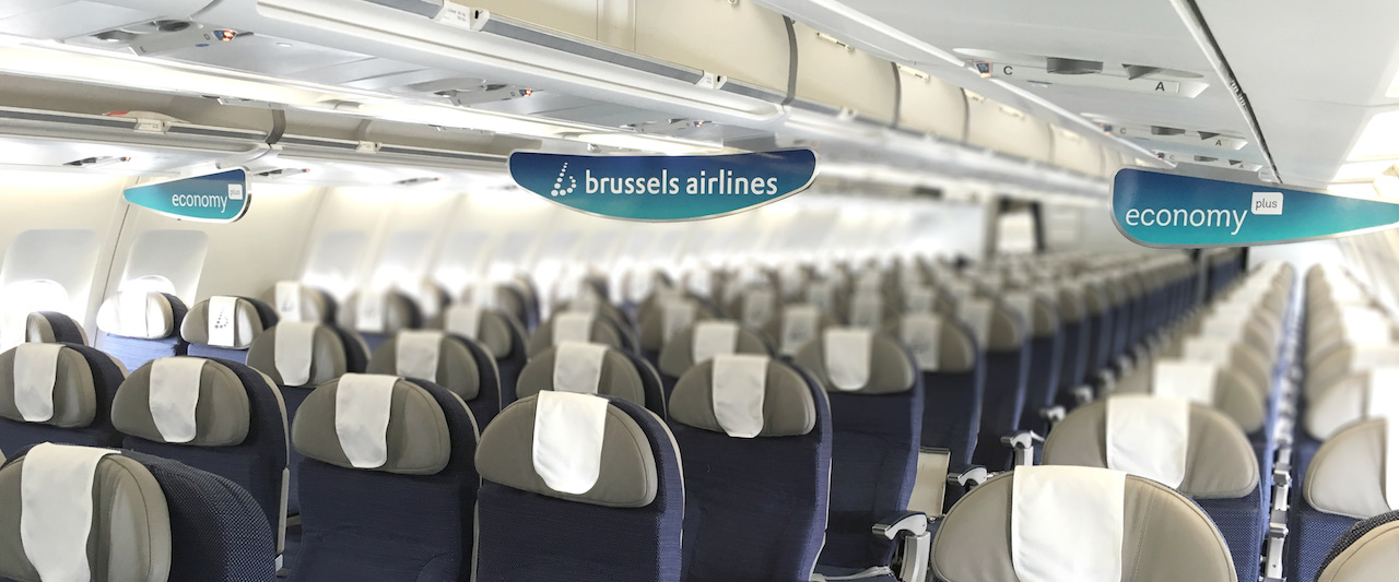 Cabine Eco Plus Brussels Airlines