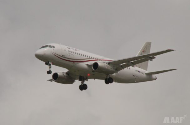 CityJet Soukhoï Superjet 100 - BOD - AAF_Aviation
