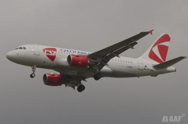 Czech Airlines A319 - BOD - AAF_Aviation