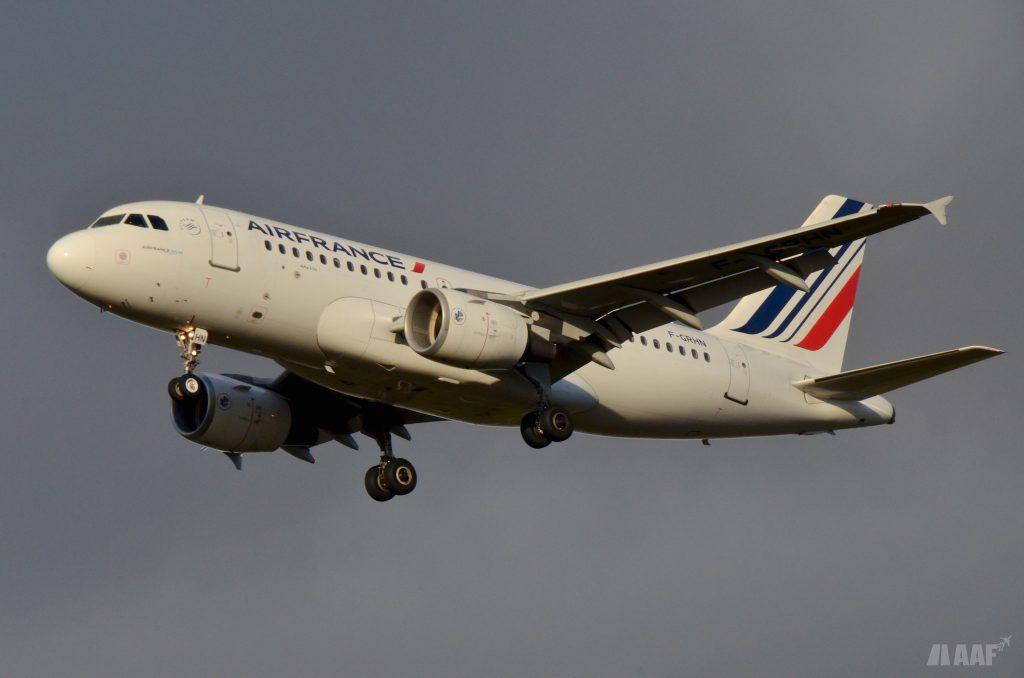 F-GRHN A319 Air France - AAF_Aviation