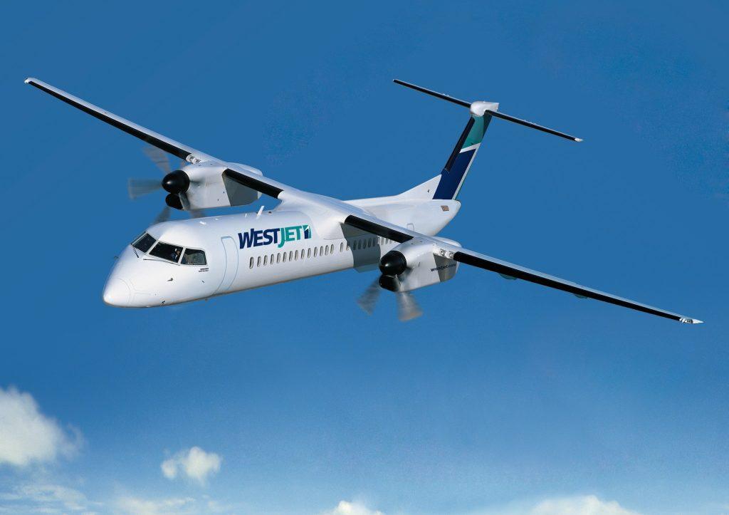 Q400 image gracieusement fournie par Bombardier inc