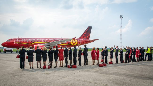 Equipe de football belges Euro 2016 - Brussels Airlines