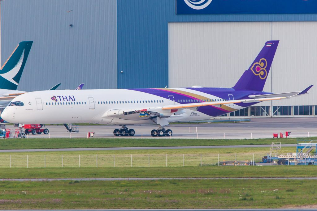 A350 Thai Airways - Clément Alloing