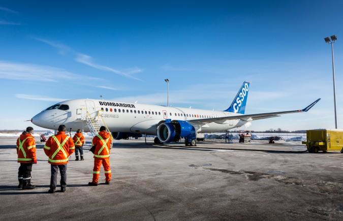 CS300 - Bombardier Avions commerciaux