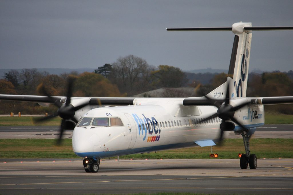 G-ECOA De Havilland Canada DHC-8-402Q Dash 8 (cn 4180) Flybe - British European. par Andrew Thomas sous (CC BY-SA 2.0)