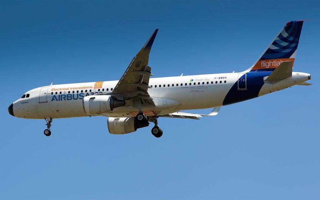 Airbus A320 série msn 001