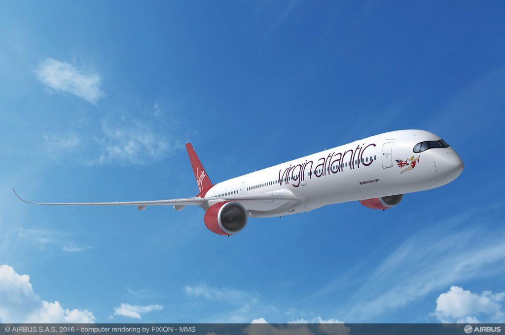 A350 Vingin Atlantic - Airbus