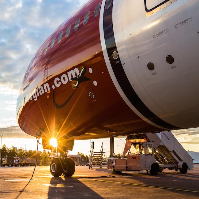 Boeing 787 Norwegian