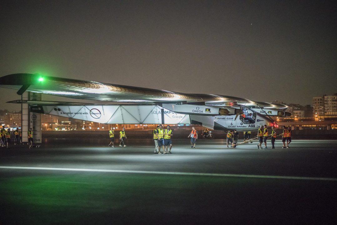 Solar Impulse 2 - Décollage du Caire