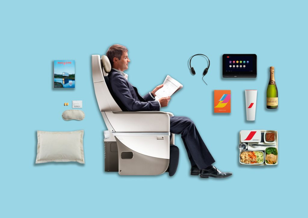 Composition Premium Economy - Air France