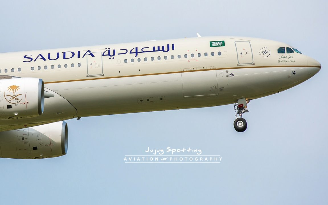 1st Airbus A330 Regional for Saudi Arabian Airlines