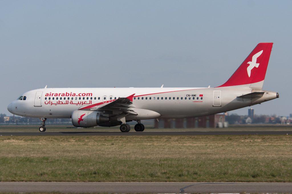 Airbus A320 Air Arabia Maroc